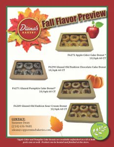 Fall Flavor Preview Flyer Click To Download